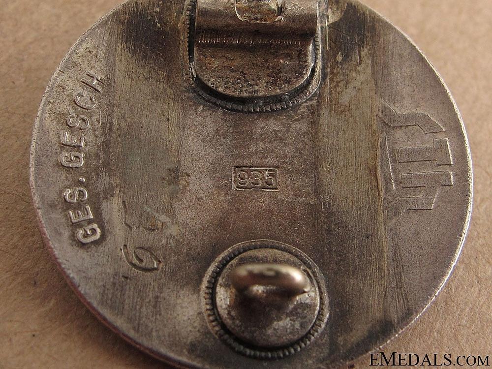 Stahlhelm Membership Badge 1929