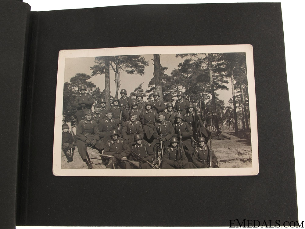 WWII Canadian Third Division Photo Album