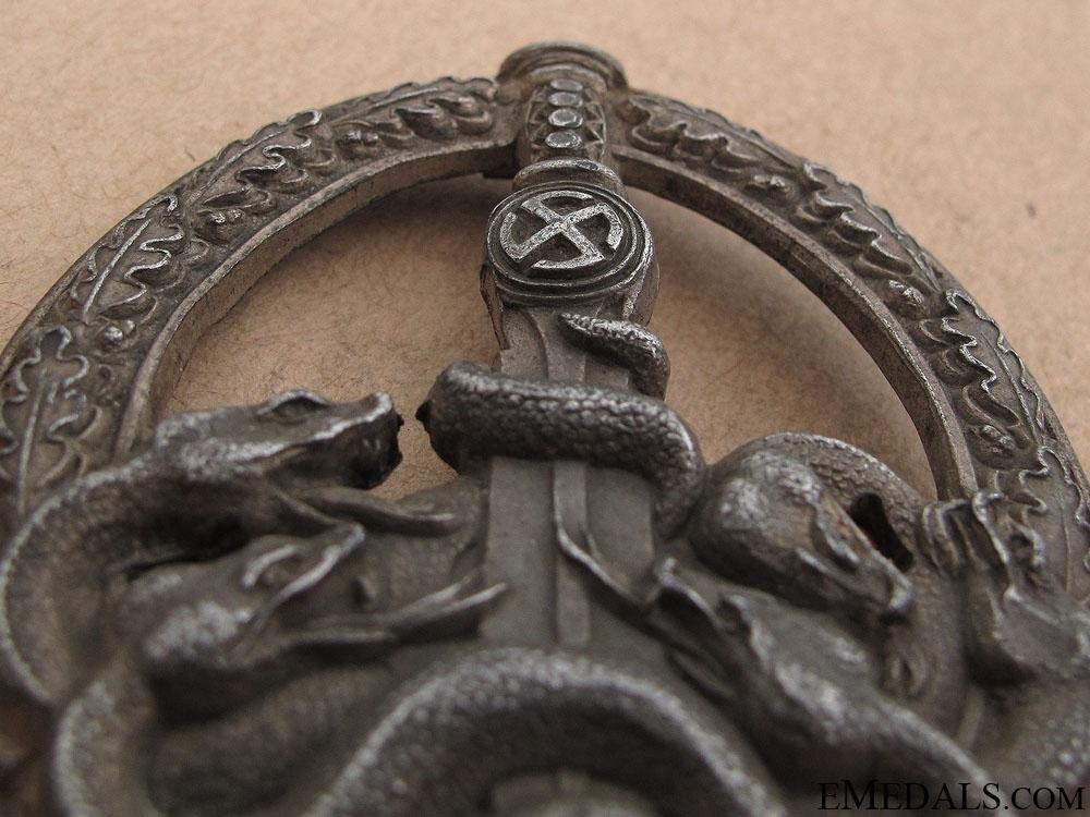 Anti-partisan Badge – Silver Grade