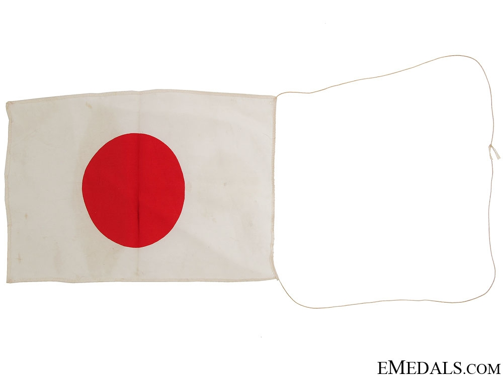 Two WWII Japanese Patriotic Flags & Banner