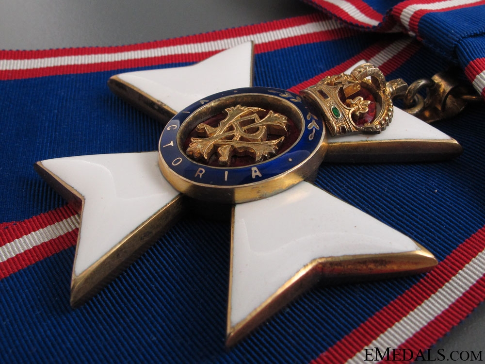 Royal Victorian Order to Countess Wava Armfelt