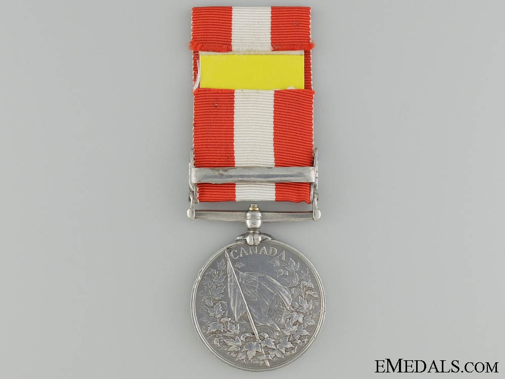 A Canada  General Service Medal to the  Quebec Provisional Battalion