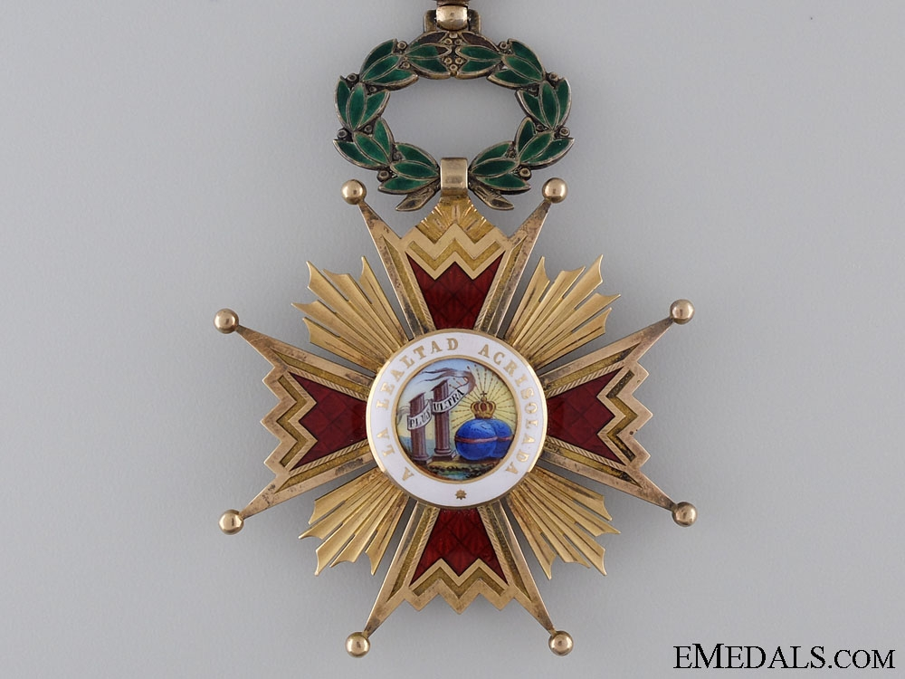 Spain, Kingdom. An Order of Isabella the Catholic in Gold, Commander, c.1910