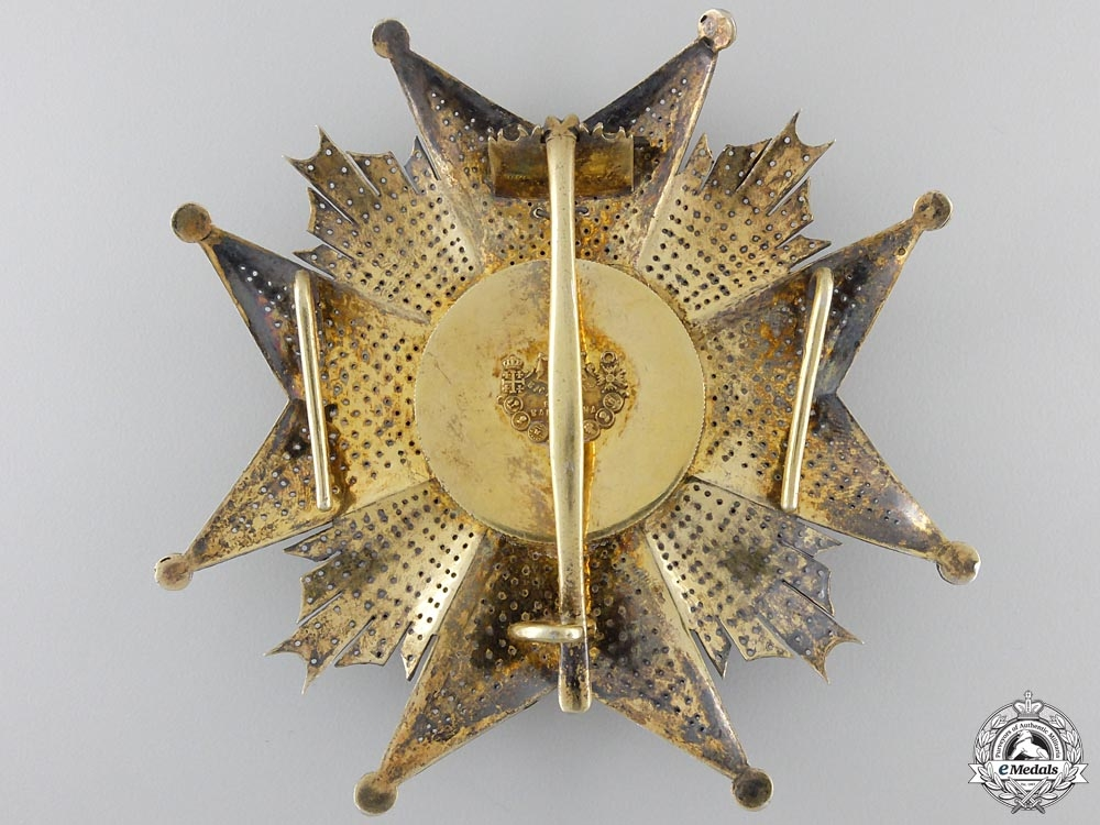 A Spanish St. Hermengildo Order; Grand Cross Star by B.Castells E Hijos