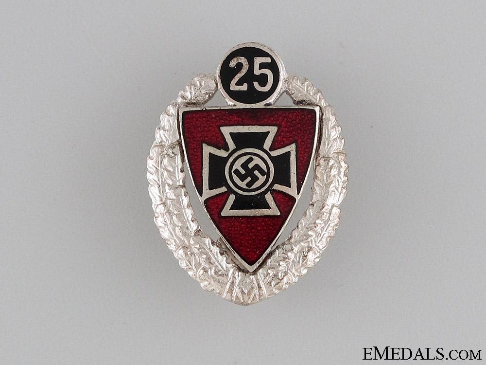 25 Year Veteran Membership Badge