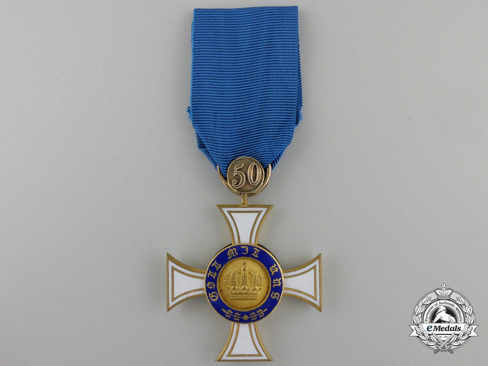 A Prussian Order of the Crown; Third Class