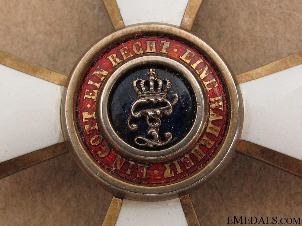 Order of Duke Peter Friedrich Ludwig