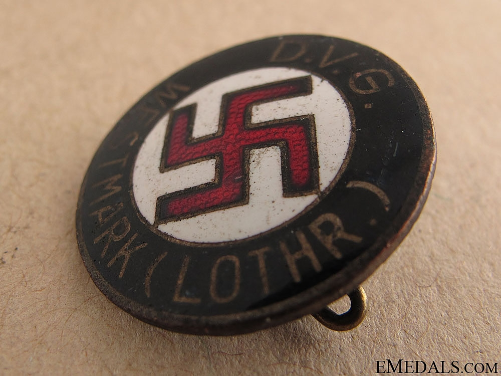 """DVG"" WESTMARK"" NSDAP Membership Badge"