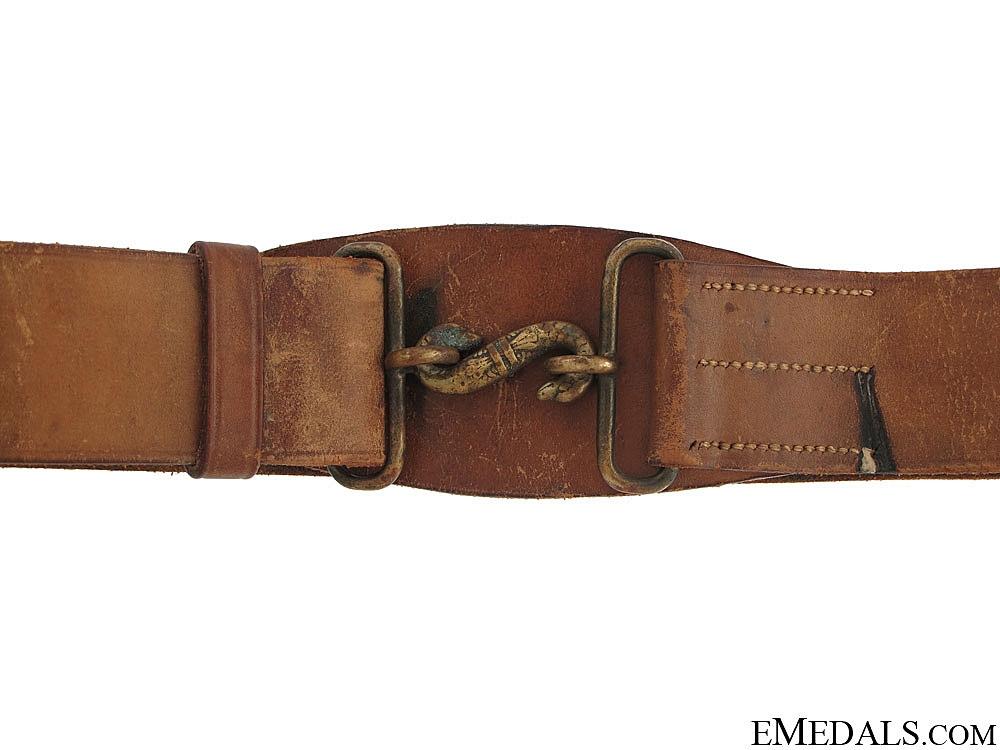 WWI Canadian CEF Belt