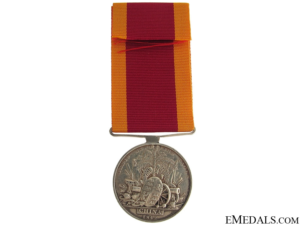 China War Medal 1842 – H.M.S. Columbine