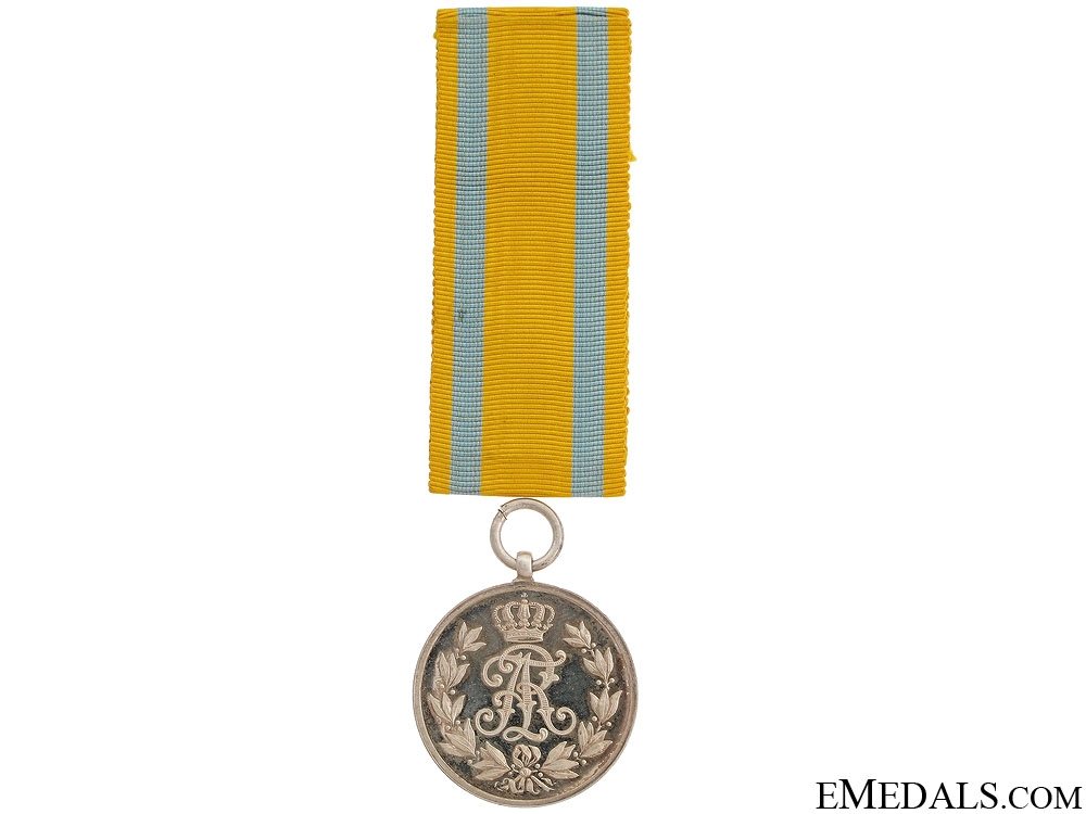 A Cased Friedrich August Medal