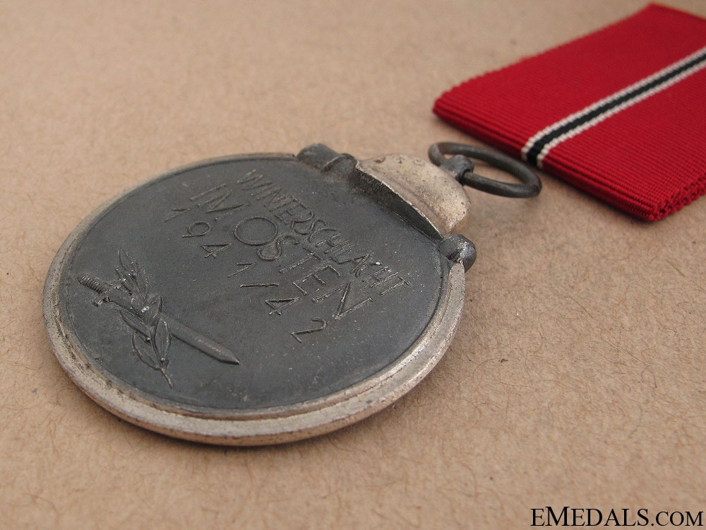 East Medal 1941/42 - Near Mint