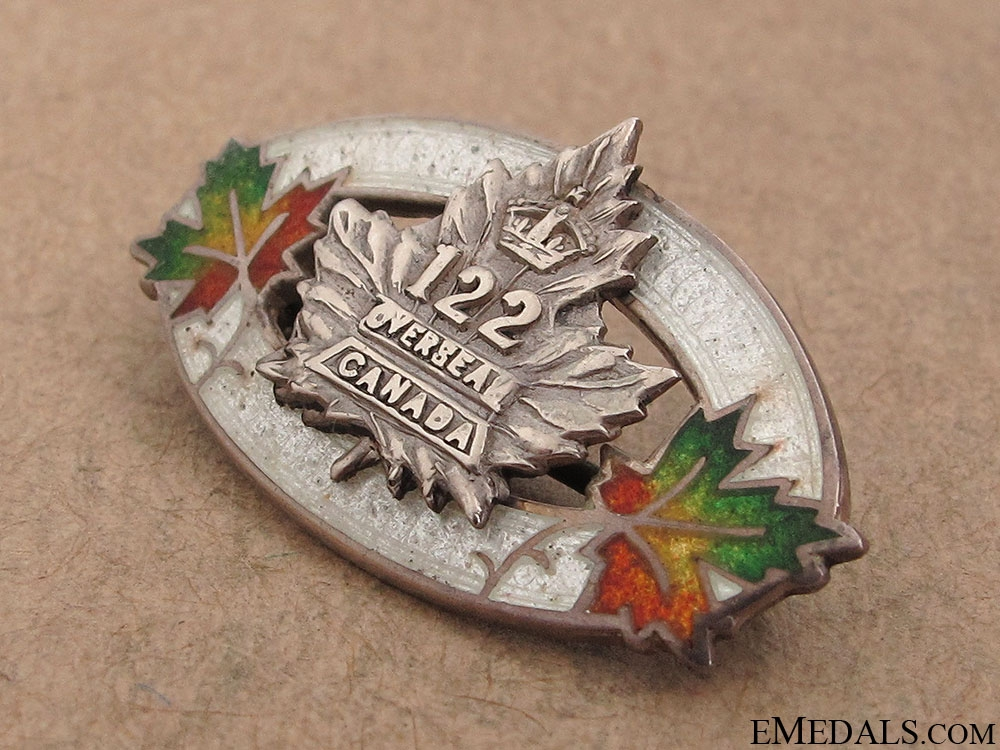 122nd Infantry Battalion Sweetheart Pin