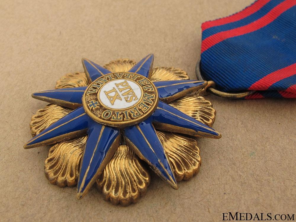 Order of Pius IX - Knight's Badge