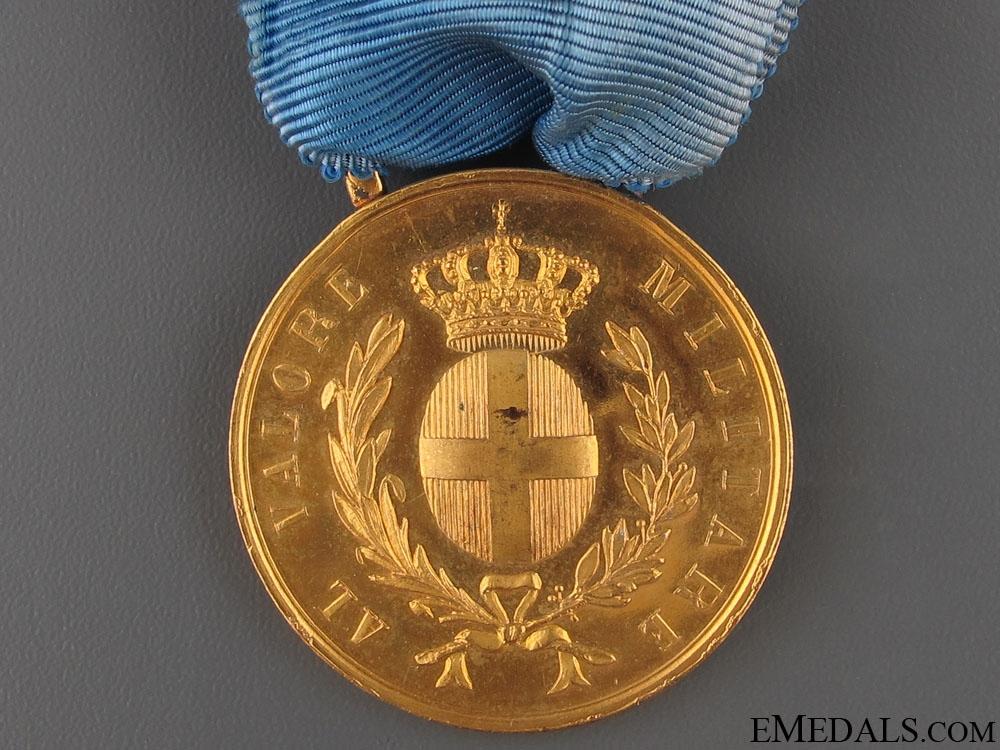 Al Valore Militare – Gold Medal
