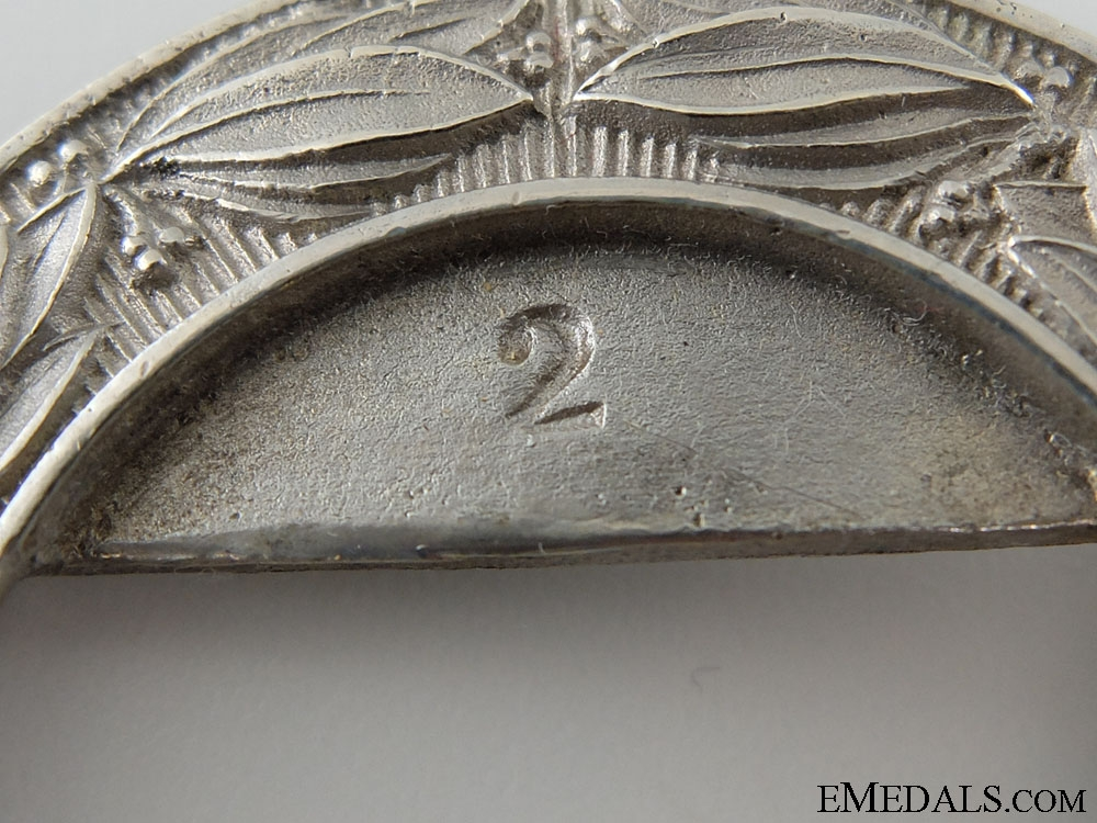 Canada. A Rare 13th Regiment (Hamilton Light Infantry) Officer's Buckle