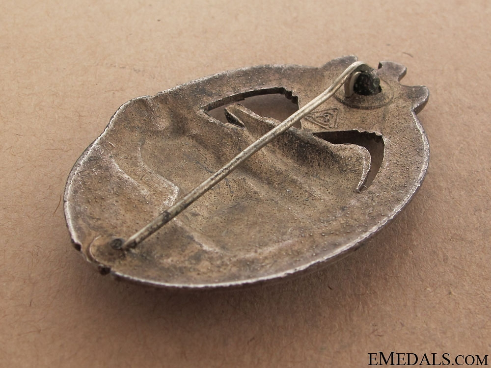 Tank Badge - Silver Grade