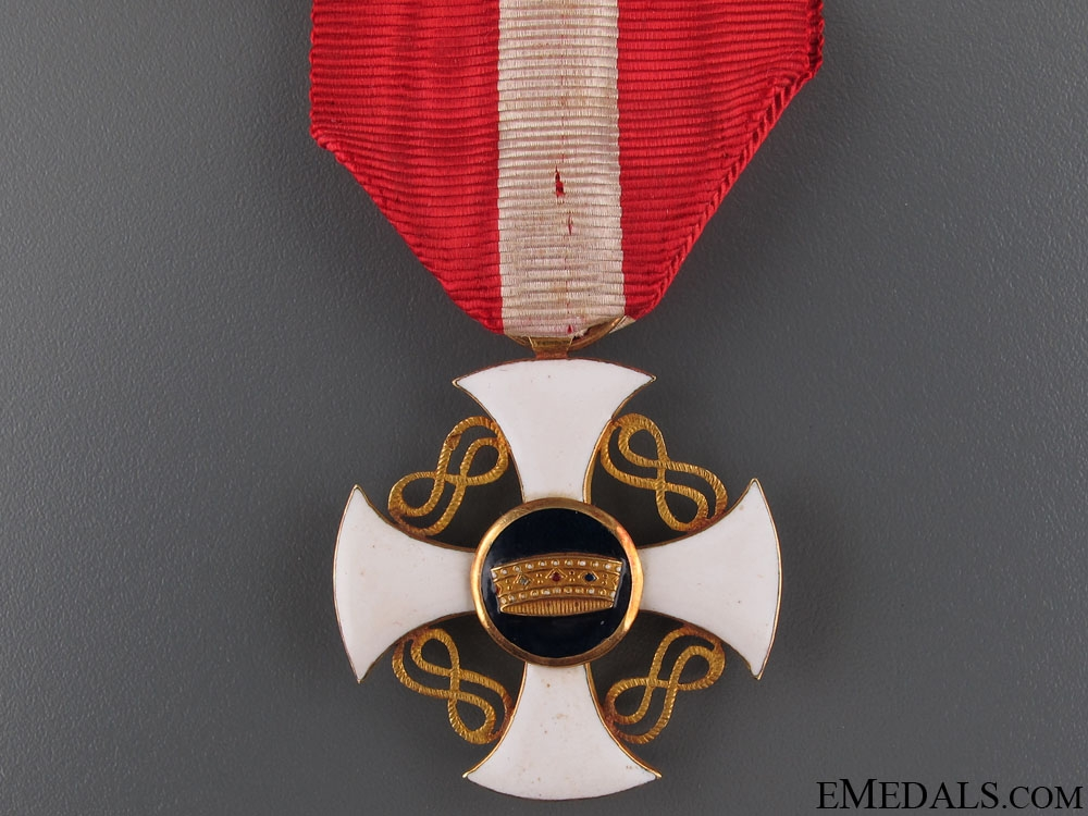 Order of the Crown - Knight's Cross