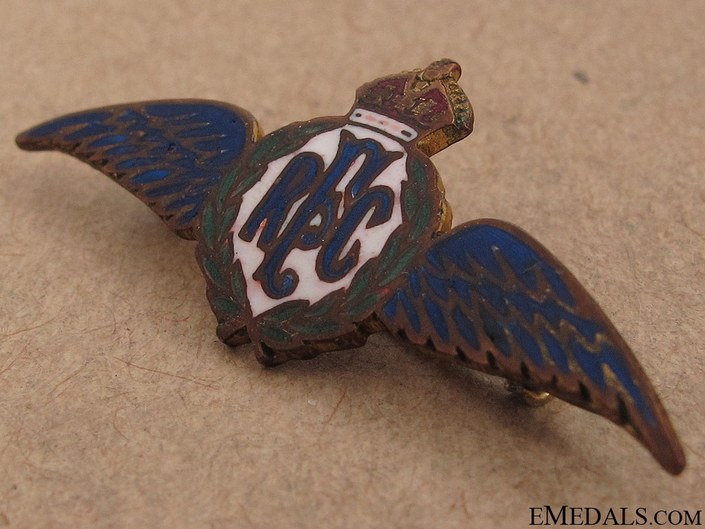 WWI Royal Flying Corps Pin by Ryrie