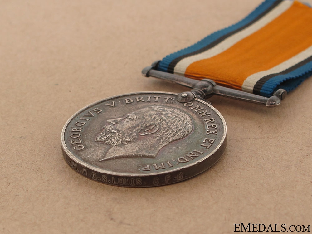 British War Medal - Canadian Forestry Corps