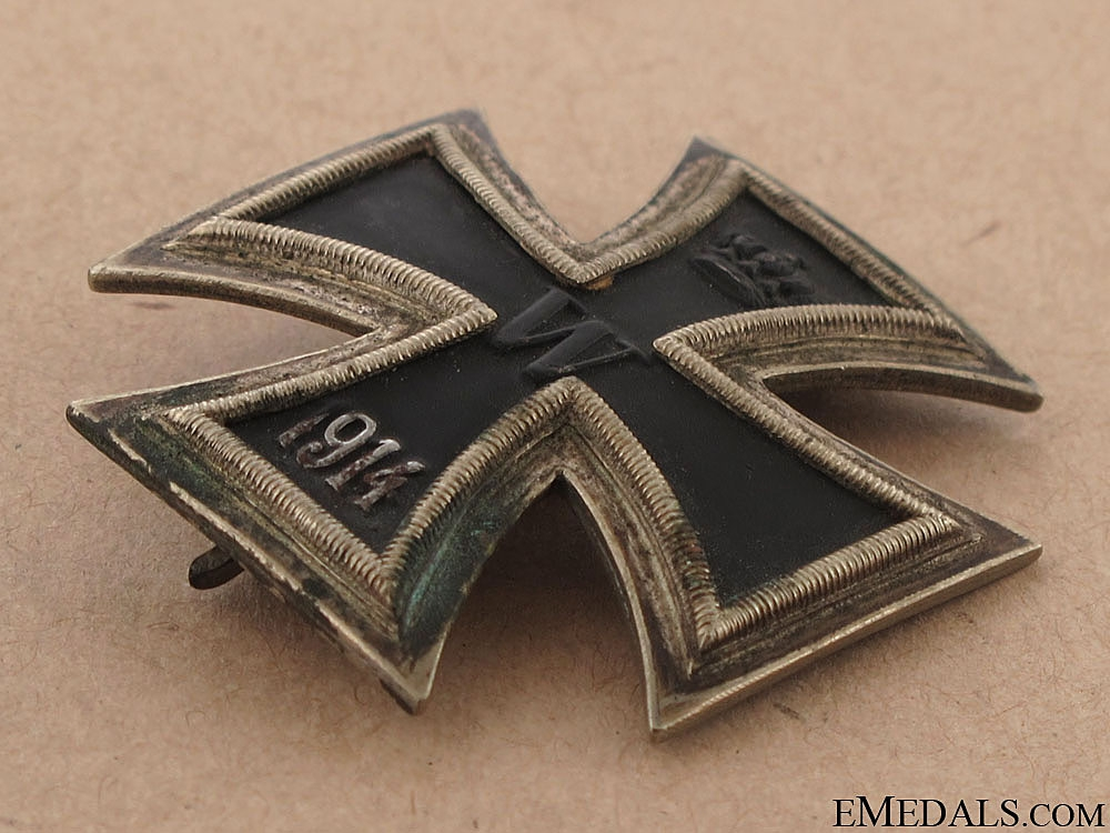 Iron Cross First Class 1914 - Juncker