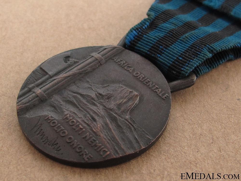 Medal for East Africa 1935-40