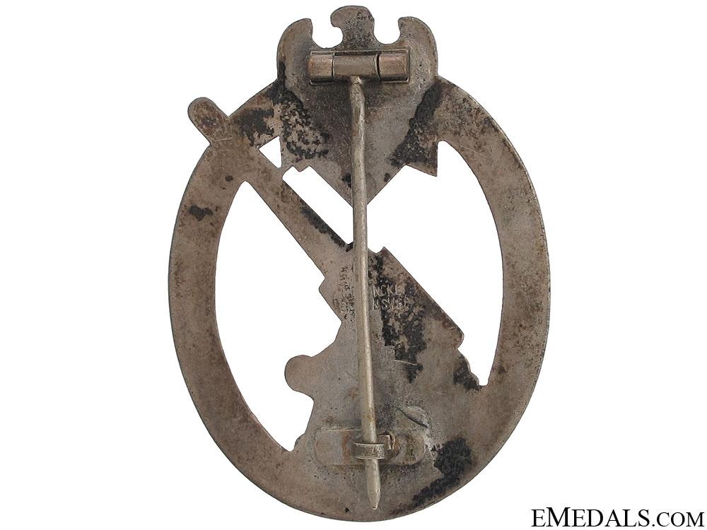 Army Flak Badge by C.E.Juncker