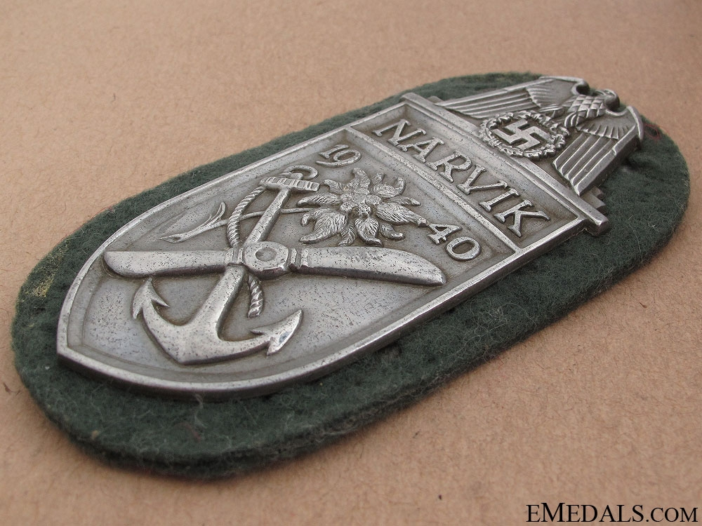 Narvik Shield – Silver Grade