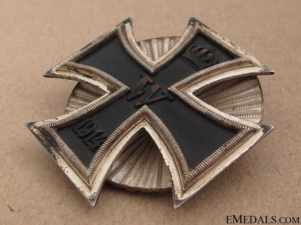 Iron Cross First Class 1914 - Screw Back