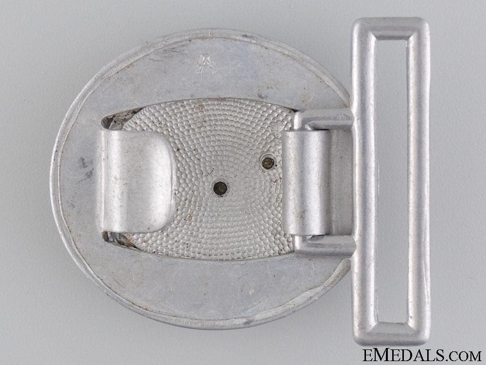 A Luftwaffe Officer's Belt Buckle by F.W. Assmann
