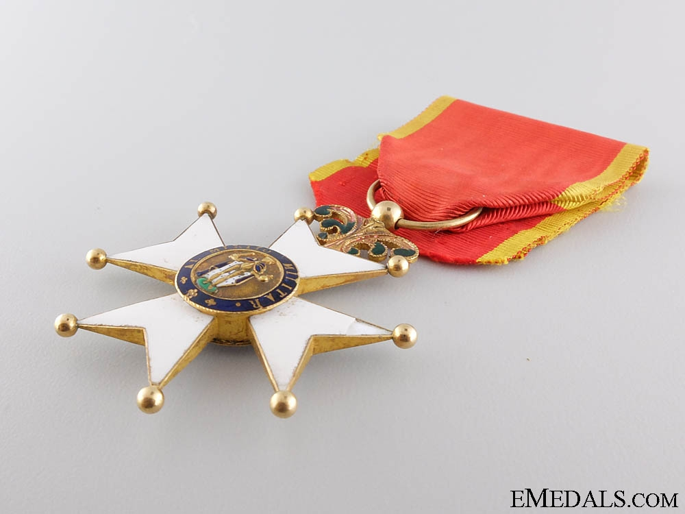 A Spanish Royal Military Order of St. Ferdinand;officer