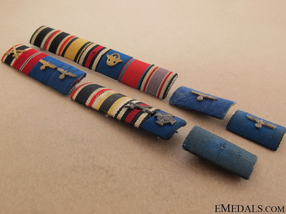 Six German Ribbons Bars