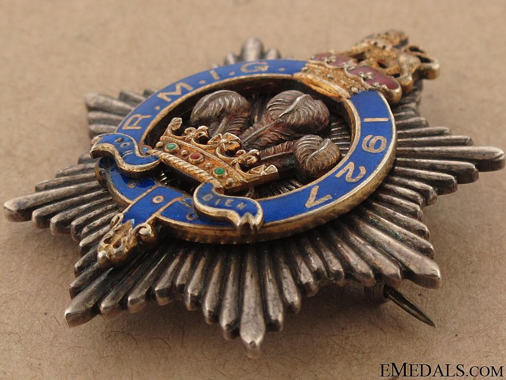 Royal Masonic Institution for Girls (RMIG) Silver Star Breast Jewel