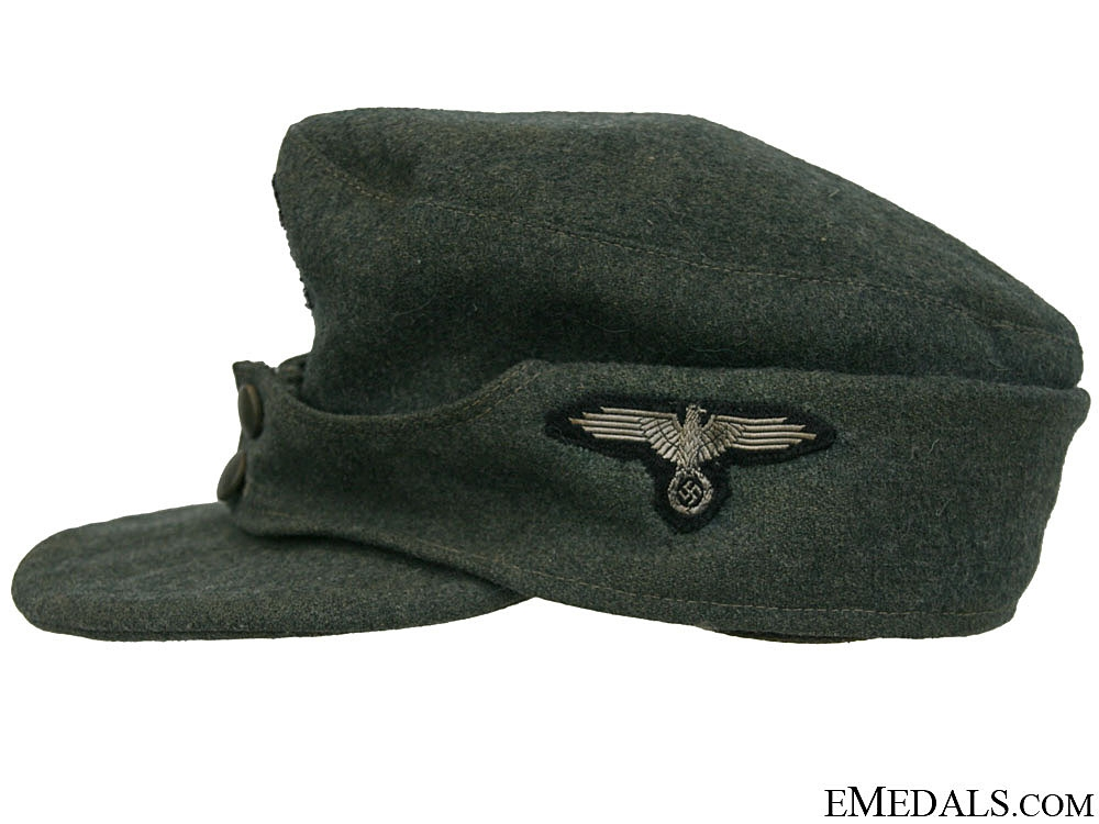 A Waffen-SS Other Ranks M43 Cap