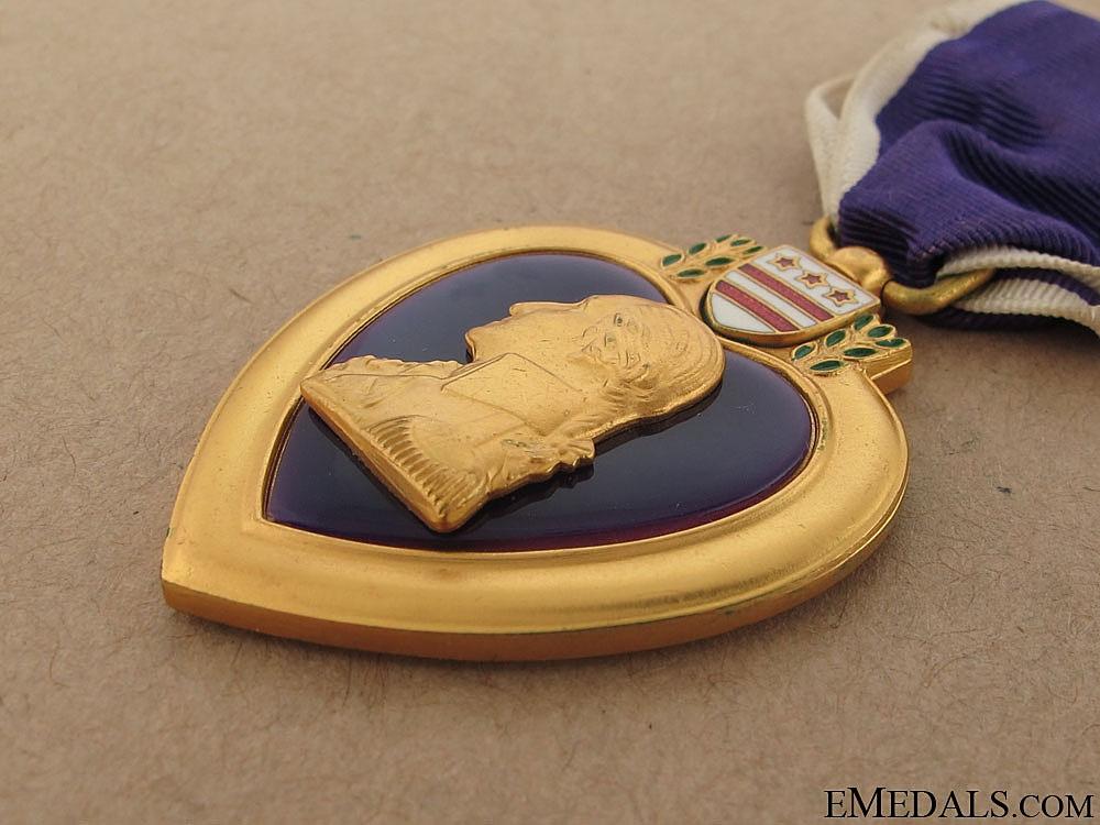 Second War Purple Heart - KIA