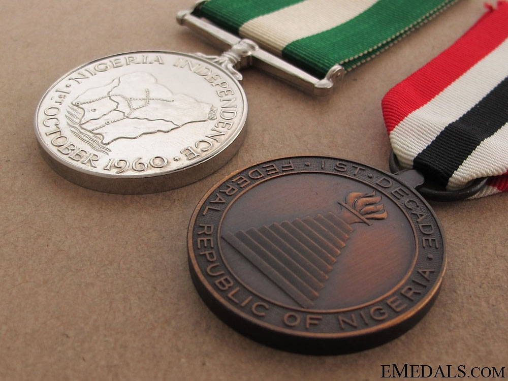 Two Nigerian Medals