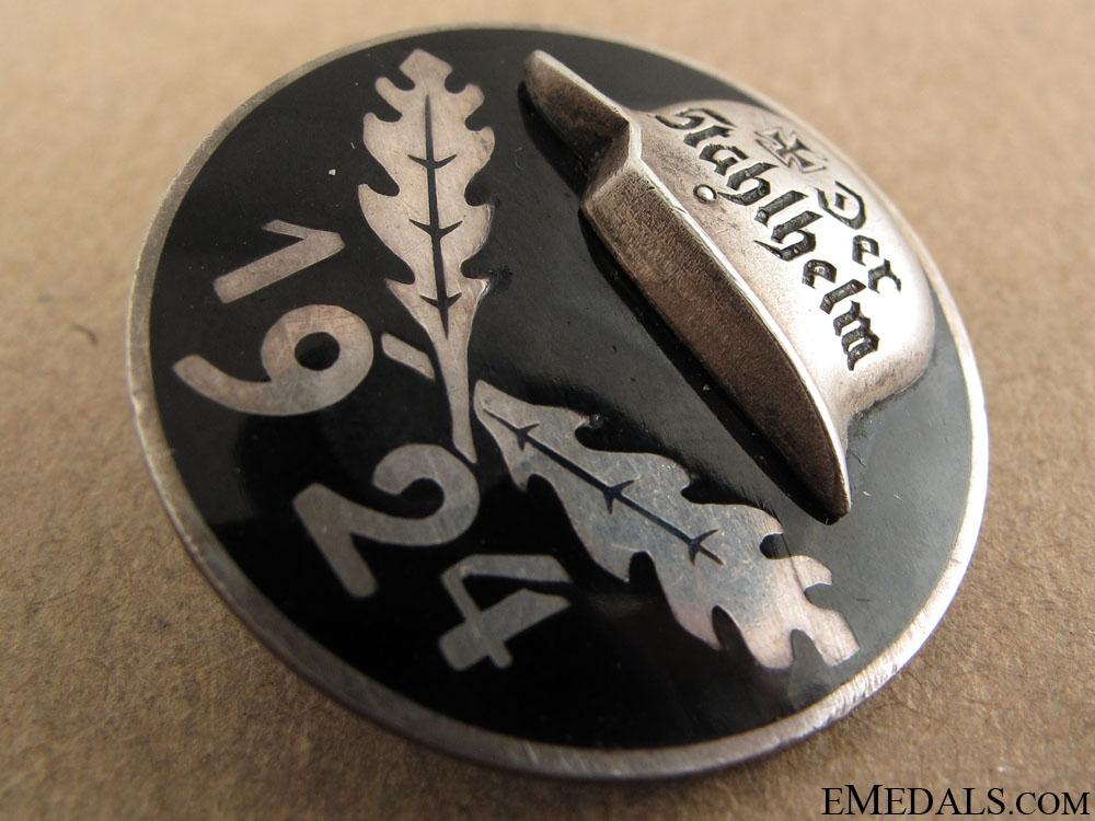Stahlhelm Membership Badge 1924 – Silver