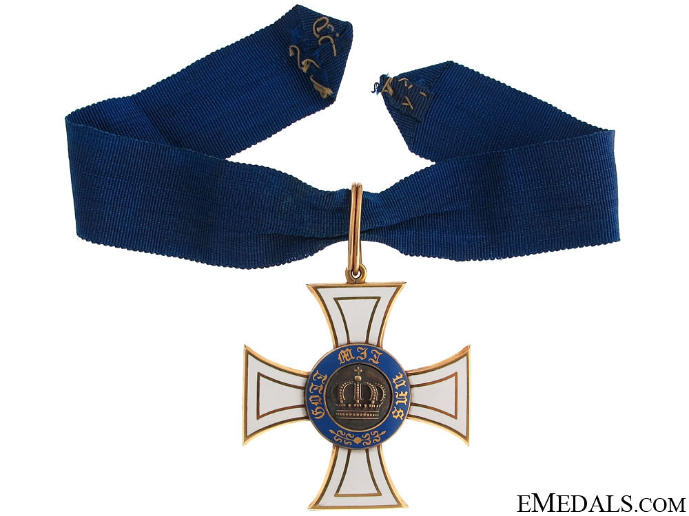 Order of the Crown - Commander's Cross
