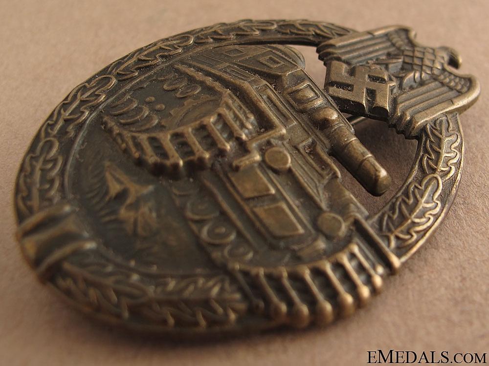 Tank Assault Badge – Bronze