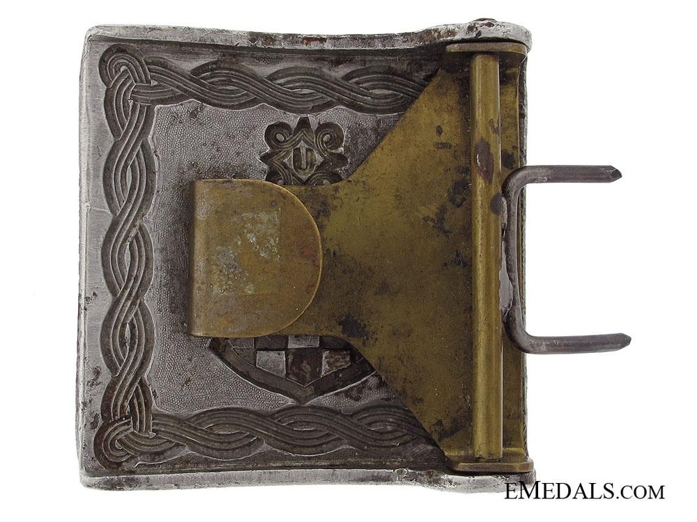 WWII Croatian Diplomat Belt Buckle