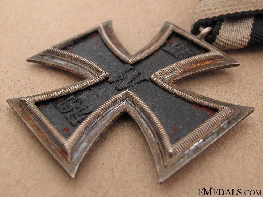Iron Cross Second Class 1914 - Austrian