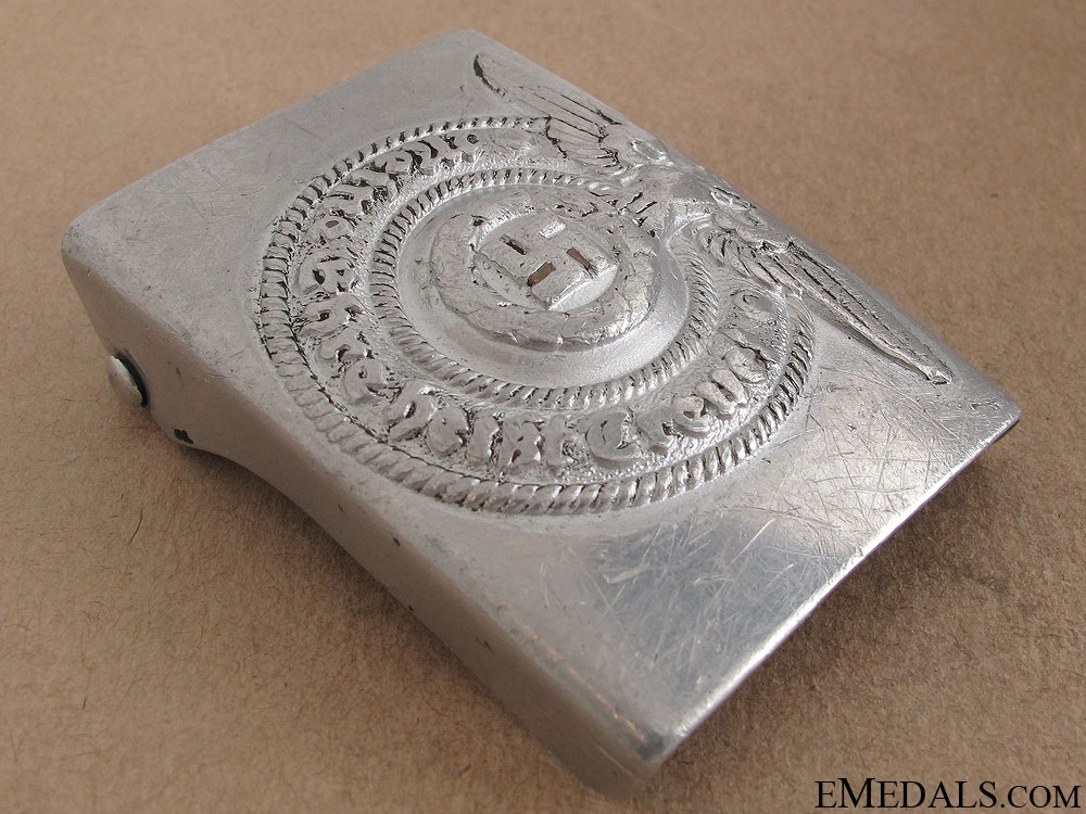 A RZM Marked SS Belt Buckle