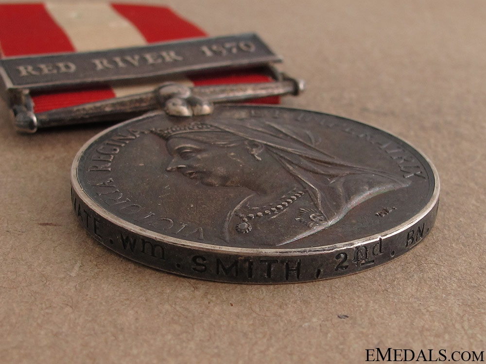 Canada General Service Medal - Red River