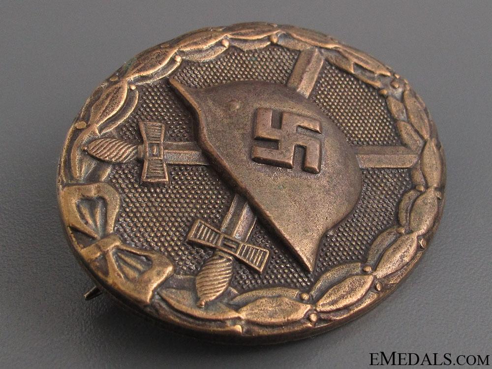 Wound Badge - Gold Grade