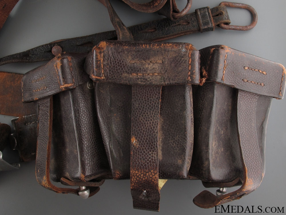 WWII Army (Heer) Ammunition Belt with Buckle