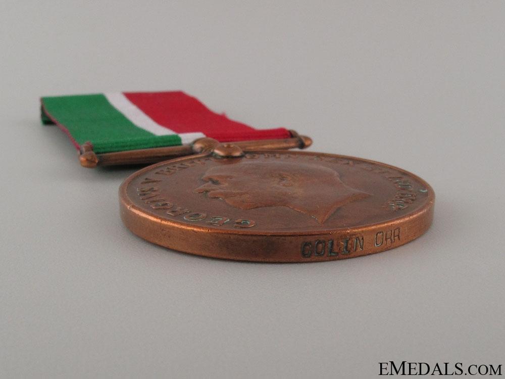WWI Mercantile Marine War Medal