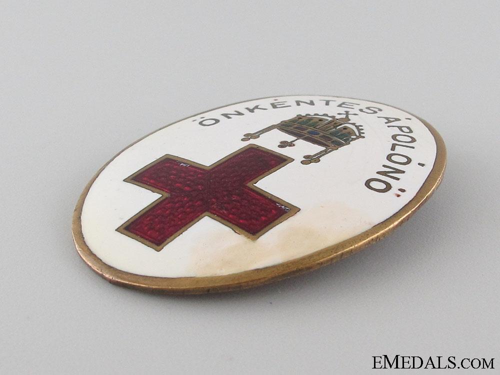 WWI Hungarian Red Cross badge