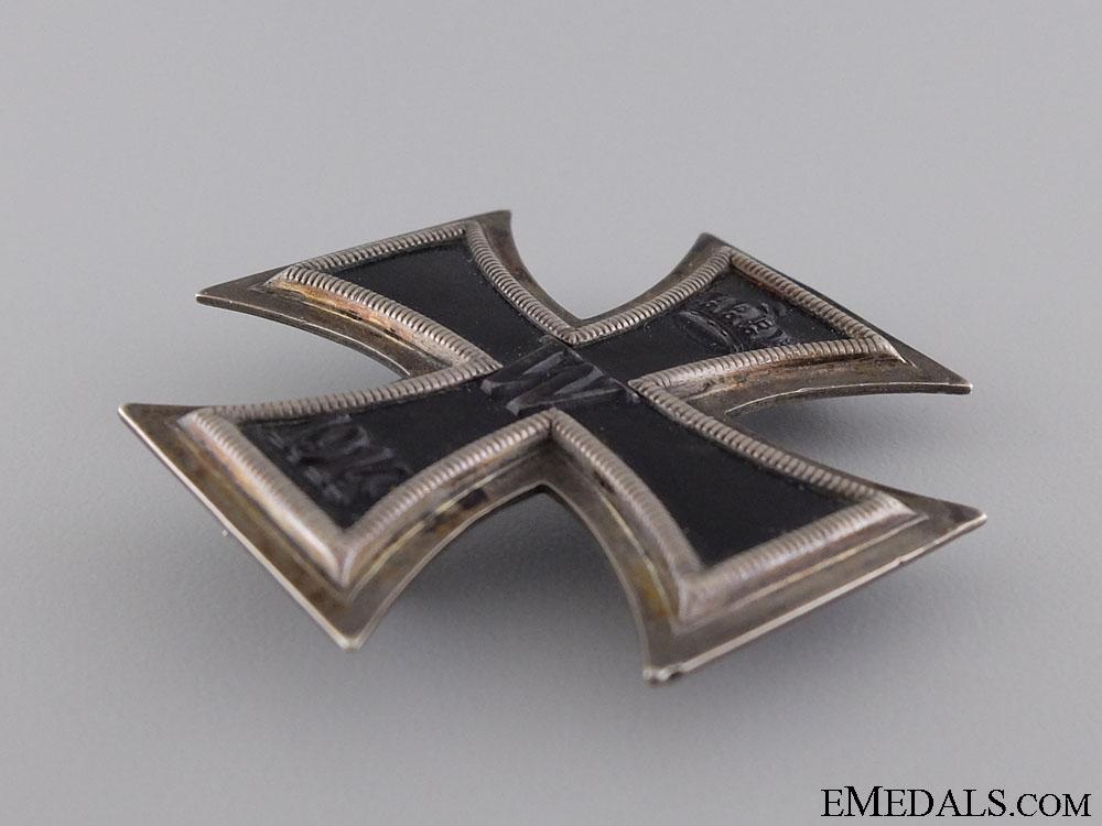A First War Iron Cross 1st Class 1914; Silver