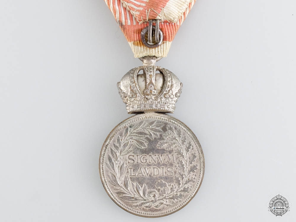 A Rare Silver Signum Laudis Award to the Airship Division