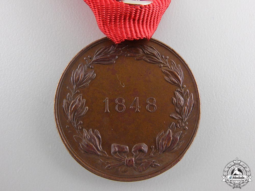 An Austrian 1848-1898 Commemorative Medal